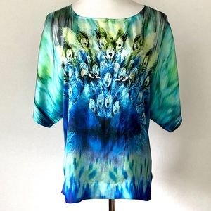 New Directions Peacock Top